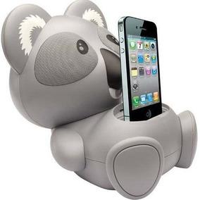 Caixa De Som Koala Iphone 6w Rms Cinza - Maxprint