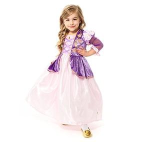 Disfraz Little Adventures Satin Rapunzel Niñas Princesa Tra