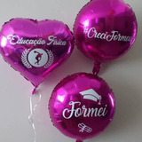 11 Balão Metalizado Personalizado Para Festa