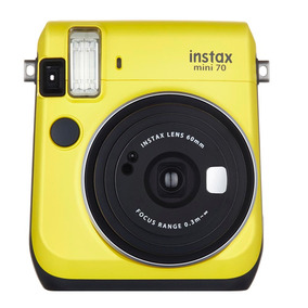 Camara Fuji Instax Mini 70 Yellow
