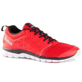 Zapatillas Reebok Sublite Xt Cushion 2.0 Hombre Rojo