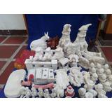 Bizcocho Ceramica Para Pintar Yeso Crudo