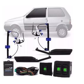 Kit Vidro Eletrico Uno 2 Portas Com Modulo
