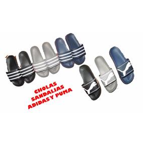 Cholas adidas Y Puma Sandalias 3 Colores Tallas 37 A 45