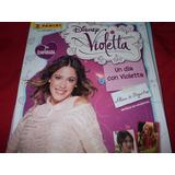 Dos Albumes De Figuritas Violeta -un Dia Con Violeta-incompl
