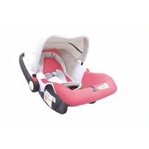 Bebê Conforto Carro Rosa Menina Com Capota Até 13 Kg