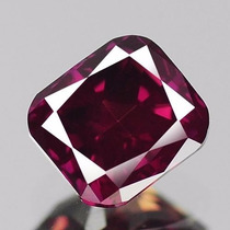 Diamante Color Rosa Purpura .31 Cts Natural. Corte Radiant