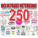 250 Plantilla Frases Vinilo Calcos Tazas Remera Frascos