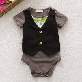 Body Bebê Terno Terninho Gravata Roupa Social Festa Smoking