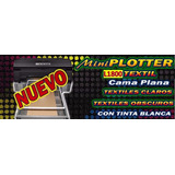 Impresora De Playeras Dtg L1800 Con Tinta Blanca Cama Plana