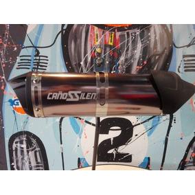 Silenciador De Moto Universal Cañossilen Cs19