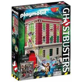 Cuartel Parque De Bomberos Ghostbusters Playmobil R3552