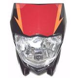 Mascara Con Optica Delantera Yamaha Xtz 125 - Moto Genesis