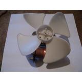 Motor Ventilador Con Aspa Para Microondas Y/o Neveras