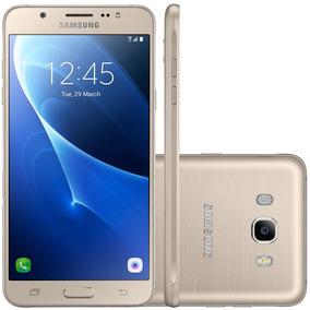 Smartphone Samsung Galaxy J7 Metal J710m Dourado - Dual Chip