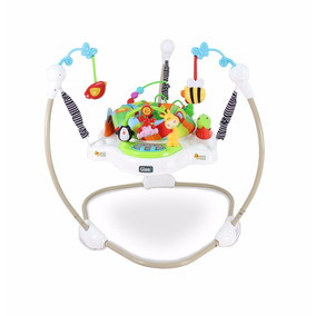 Baby Jumper Glee A8101 Blanco Luces Sonido Juguetes Lavable