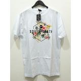 Camiseta Masculina South To South Branca Original