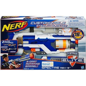Pistola De Juego Nerf N-strike Elite Spectre Rev-5 Stealth