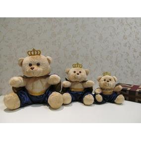 Ursos Príncipes Pelúcia P/ Nicho P M G Decoração Quarto Bebê