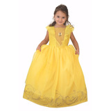 Disfraz Princesas Disney Bella Fiesta Con Luz - New Toys