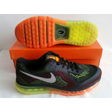 Air Max 2014 Nike Multicolor Talle Br42 Us10 Uk9 Eur44 Cm28