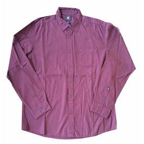 Camisa Lisa Manga Larga Hombre Quicksilver