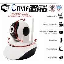Câmeras Ip Wireles Wifi Hd 1.3 Mp Onvif