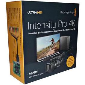 Placa De Captura Blackmagic Design Intensity Pro 4k Pci-e Hd