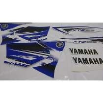 Kit Jogo Adesivo Faixa Xtz 125 2012 2013 12 13 Azul - 1135