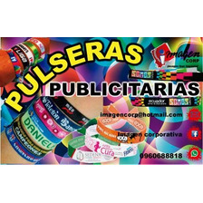 Pulseras Publicitarias