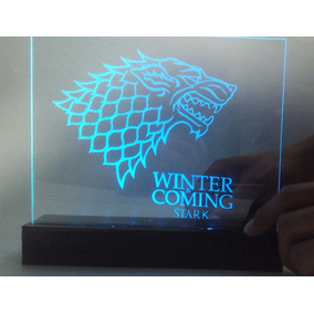 Game Of Thrones Casa Stark Lampara Led