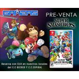 Super Smash Bros Ultimate Nintendo Switch Nuevo Fisico