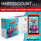 Tablet Bangho Disney Junior Express Topa 1gb Ram 8gb 7¨ Pulg