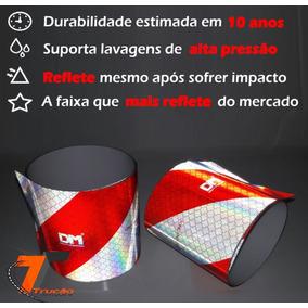 Faixa Refletiva Do Parachoque Caminhão Dm - Padrão 3m