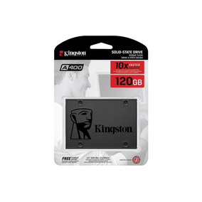 Disco Solido Ssd Kingston A400 120gb 550mb/s 2.5 Uv400 New!