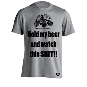 Sarcasmo-playera Jeep Hold My Beer Colores Envio Gratis