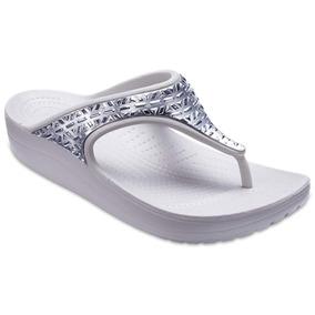 Crocs sexi flip white