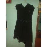 Vestido De Fiesta Negro Hermoso