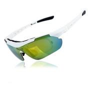 Oculos Para Ciclismo Polarizado Kit Completo 5 Lentes E Case