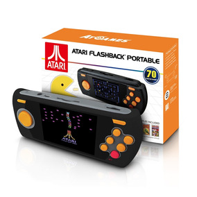 Video Game Portatil Atari Com 70 Jogos Internos - Flashback