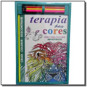 Kit Livro Para Colorir - Terapia Das Cores - Queen