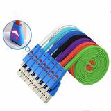 Cable Usb A Micro Usb Cargador Celular Con Luz Led 1 Metro