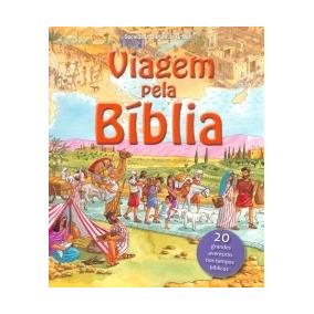 Livro Ilustrado Viagem Pela Bíblia - Sbb