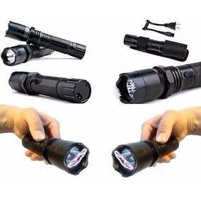 Lanterna Tática + Taser Choque Ultrapotente Police 80.000w