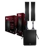 Alien Opera Sistema De Audio Sub 12¿ + 2 Torres 4x4