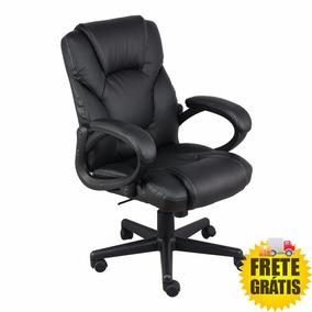 Cadeira Escritorio Excelent Diretor Preta Relax Recouro