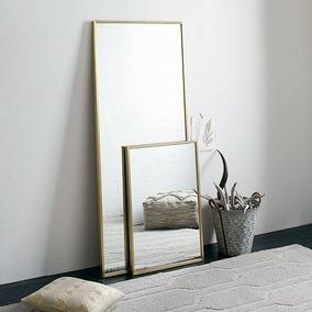 espejo rectangular a medida marco hierro