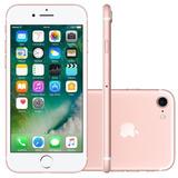 Iphone 7 32gb Apple Ouro Rosa Sensor De Impressão Digital