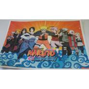 Naruto Papel De Arroz A4 Comestível Para Bolo