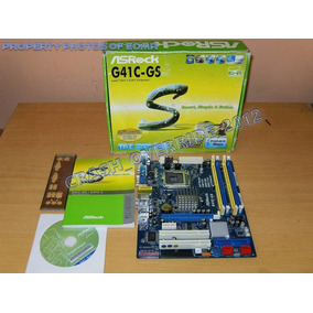 Tarjeta Madre Asrock G41c-gs Socket 775 Usa Ram Ddr2 O Ddr3